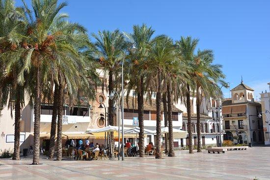 Ecija, İspanya: Plaza de Espana