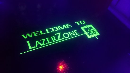 Barrow-in-Furness, UK: Welcome to LazerZone