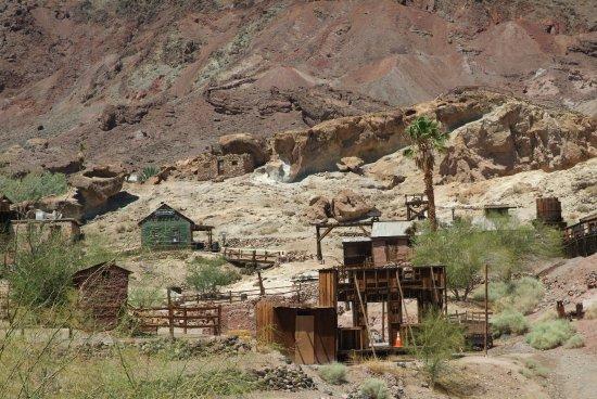 Yermo, Californien: Antiguas minas