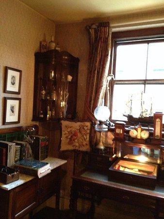 Sherlock Holmes Museum: интерьер