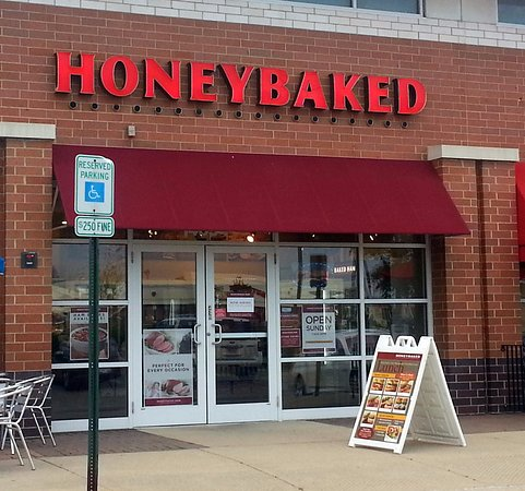 Orland Park, IL: front of & entrance to Honeybaked Ham Company