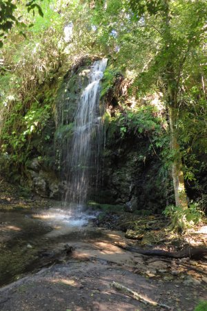 Overberg District, Südafrika: Waterfall on second day for cooling down
