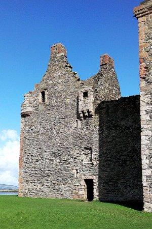 Lochranza, UK: Partie la plus importante des ruines