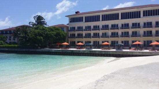 Hulhule Island Hotel: 20170825_104410_large.jpg