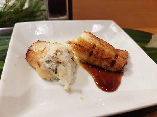 Yamazaki: Uni with soy and sweet soy
