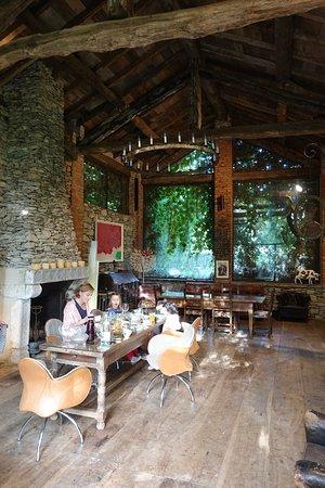 Dormelletto, Italy: Unser Frühstückstisch im Haupthaus