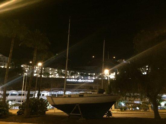 Marina Bayview: View from the marina