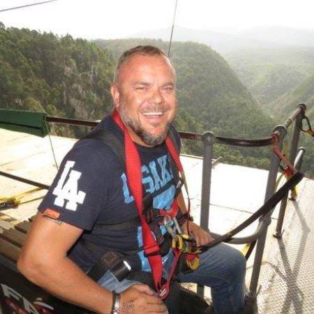 Tsitsikamma National Park, Sydafrika: getting ready to fly