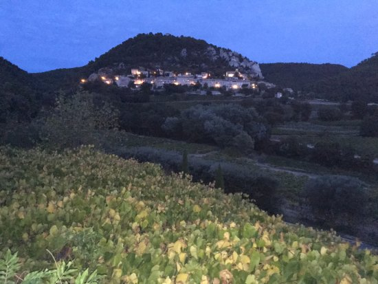 Seguret, France: A room with a view