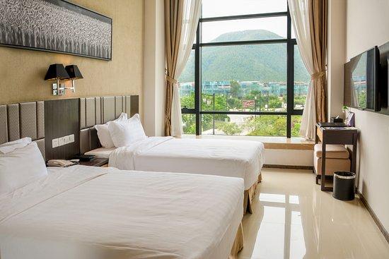 Enping, Çin: 公馆一房一厅(双床)