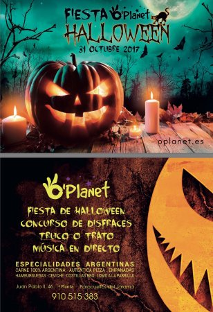 Paracuellos de Jarama, Spain: O'Planet