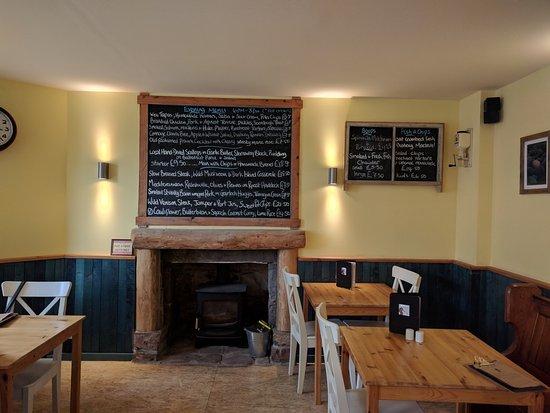 Torridon, UK: Restaurant interior