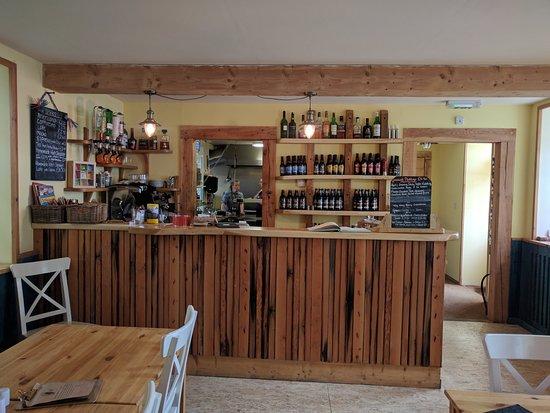 Torridon, UK: Restaurant interiror