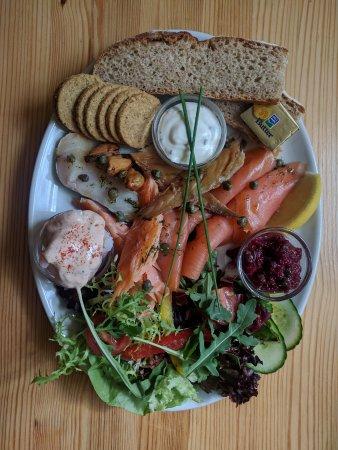 Torridon, UK: Seafood platter