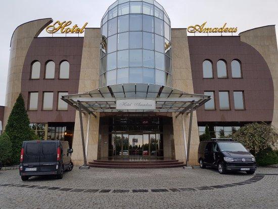 Wodzislaw Slaski, Polonia: Hotel Amadeus Wodzisław Śląski