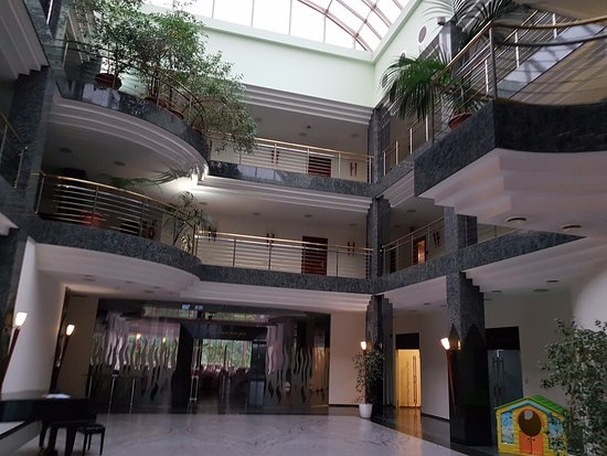 Wodzislaw Slaski, Polonia: Patio - hotel Amadeus Wodzisław Śląski