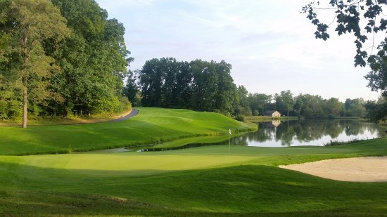 Nashport, OH: No. 9, most difficult hole in the tournament