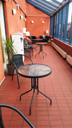 Solna, Swedia: veranda