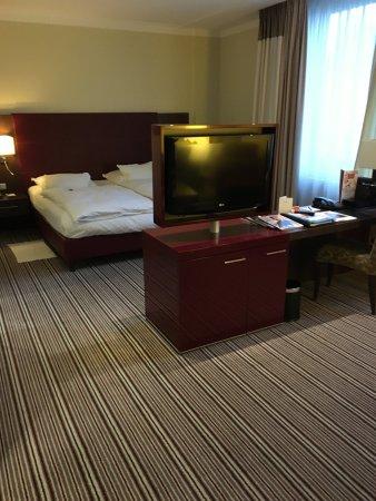 eine luxeriöse Junior-Suite.. leider nur eine Nacht