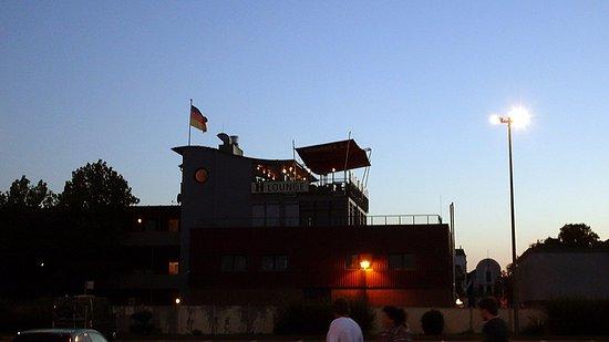 Restaurant HERBERTS: Tolle Lounge auf dem Dach. Leider zu spät entdeckt.