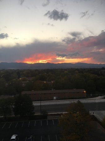 Hilton Fort Collins: Views from the 9th floor