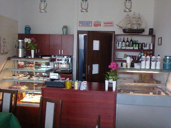 Marina Cafe  ; Olsztyn, ul. Popiełuszki 24