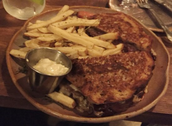 Decatur, IL: Lamb Patty Melt Entree - Taproot, Bethel CT