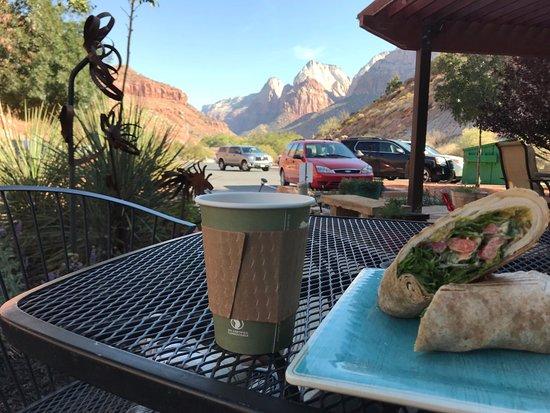 Cafe Soleil: Eten met uitzicht