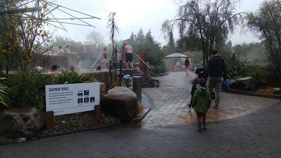 Hanmer Springs, Nya Zeeland: Sulphur pools
