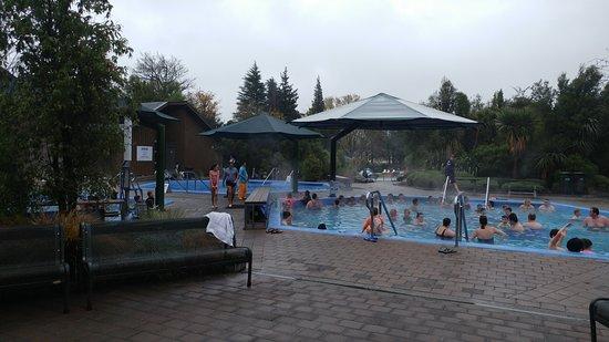 Hanmer Springs, Nya Zeeland: Hexagonal pools