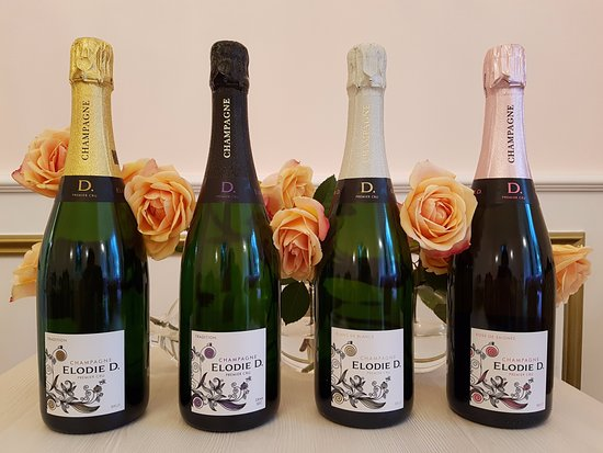 Epernay, فرنسا: Nos Champagnes