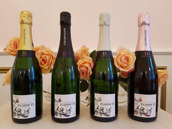 Epernay, França: Nos Champagnes