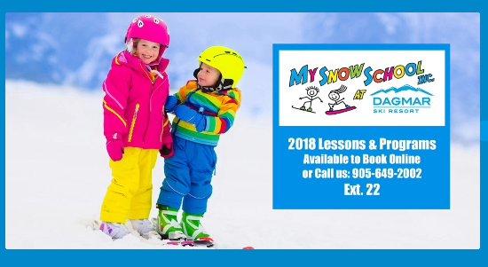 Uxbridge, Kanada: Voted #1 Ski School by readers of Toronto4Kids