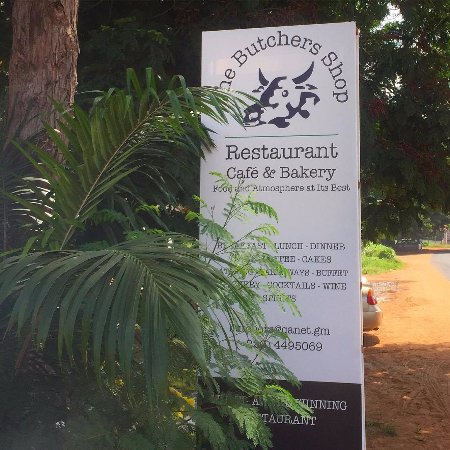 Fajara, Gambia: Food and atmosphere at its best