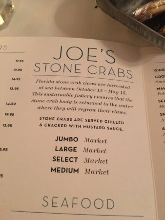 Joe's Stone Crab: photo4.jpg
