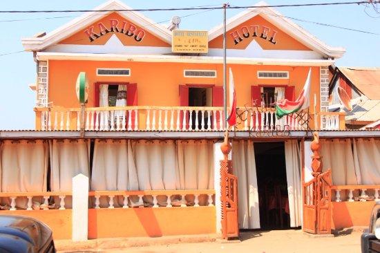 Belo Tsiribihina, Madagascar: Karibo Hotel Miandrivazo
