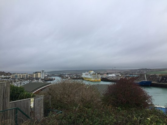 Newhaven, UK: From the carpark