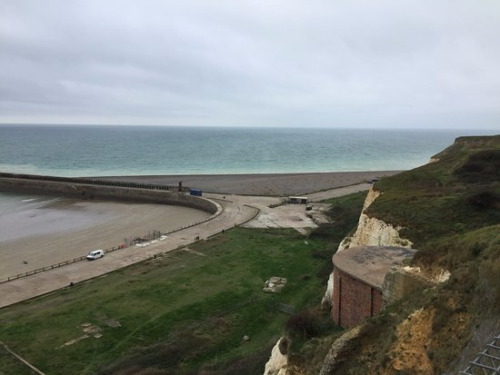 Newhaven, UK: view from the top post