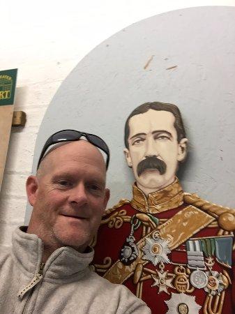 Newhaven, UK: me and my mate...grumpy