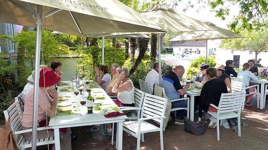 The Restaurant At Neethlingshof: La terrasse