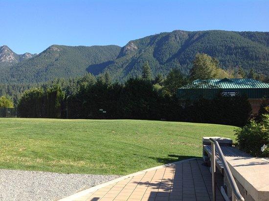 North Vancouver, Kanada: Nice mountains