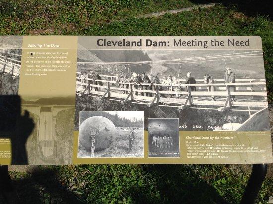 North Vancouver, Kanada: Several information boards. Interesting history
