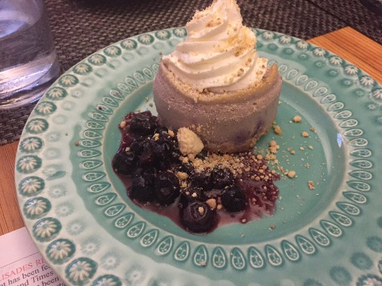 Raspberry MOuse at the Palisades Restaurant, Eggleston, VA