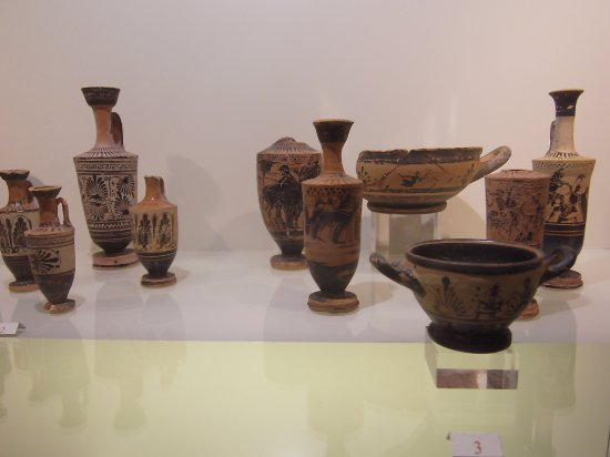 Museo archeologico Gabriele Judica: Just a small sample of what you can see here
