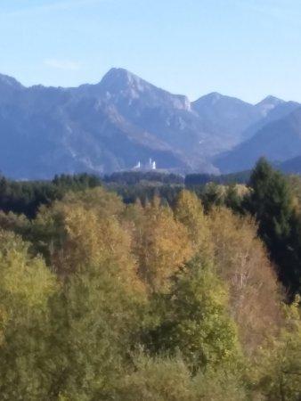 Hopferau, เยอรมนี: Sur les châteaux