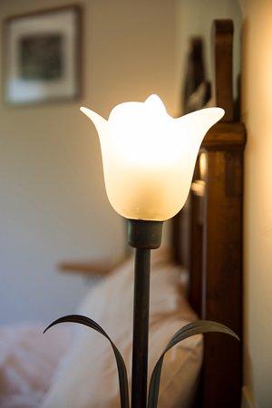 Calatabiano, Ιταλία: Particolare lampada comodino