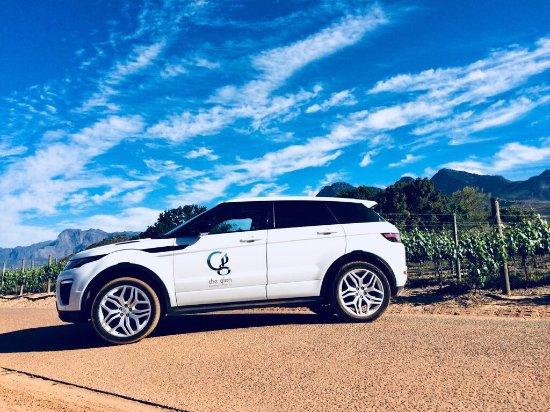 Glen Boutique Hotel & Spa: Range Rover White - Rent for R1500 per day