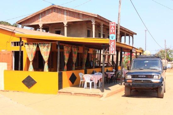 Belo Tsiribihina, Madagascar: Mad zebu restaurant