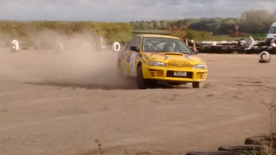 Bill Gwynne Rallyschool International: More practice