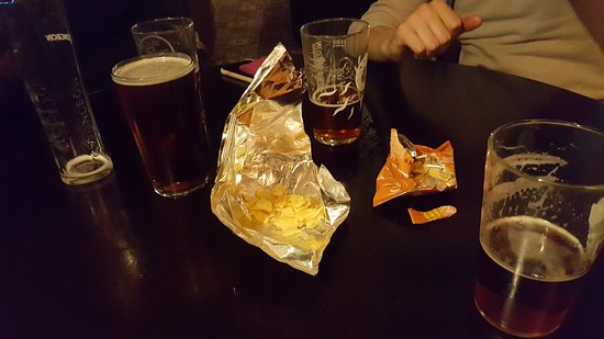 Gillingham, UK: birra e snack